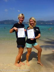 PADI IDC in Phuket Thailand, Platinum Course Director - Confined Water