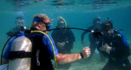 PADI IDC in Thailand, Koh Lanta, Tao, Phi Phi, Phuket - Confined Water Teaching Presentation, Dive Instructor Course Director