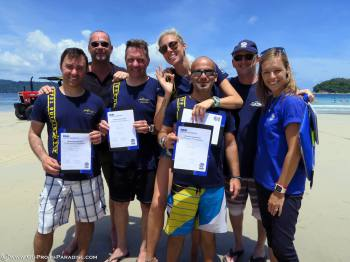 PADI IDC in Koh Lanta, Tao, Phi Phi, Phuket, Thailand, Instructor Exams, IE, Richard Reardon