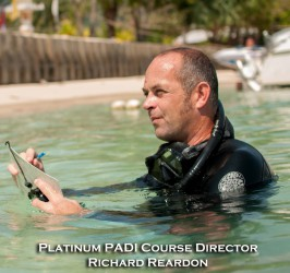 Platinum PADI Course Director, Richard Reardon, Phuket, Thailand, Indonesia, IDC, SCUBA Diving, Instructor Training Course, CDTC