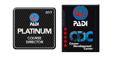 PADI IDC Thailand, IDC Staff Instructor, Master Instructor, CDTC, Platinum Course Director, CDC